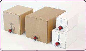 Carton Boxes For Bib Bag In Box